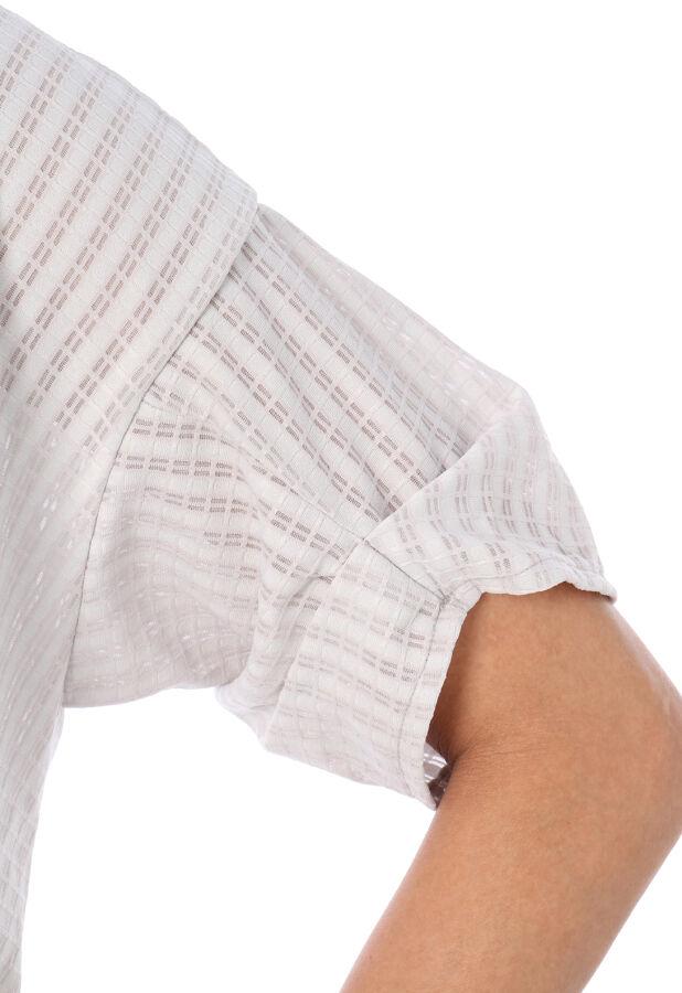 PARADIS TERRE:ブロックレース裾タックPO 9