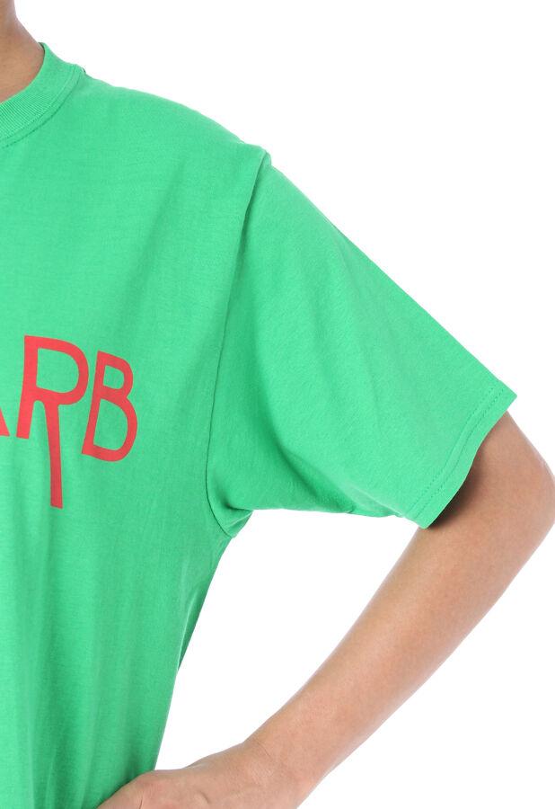 シアタープロダクツ/ウォッシャブル ベジタブルロゴTシャツ 6