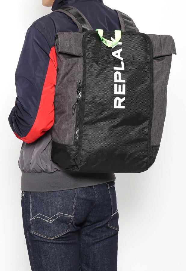 REPLAY/リプレイ POLYESTER NYLON バックパック 2