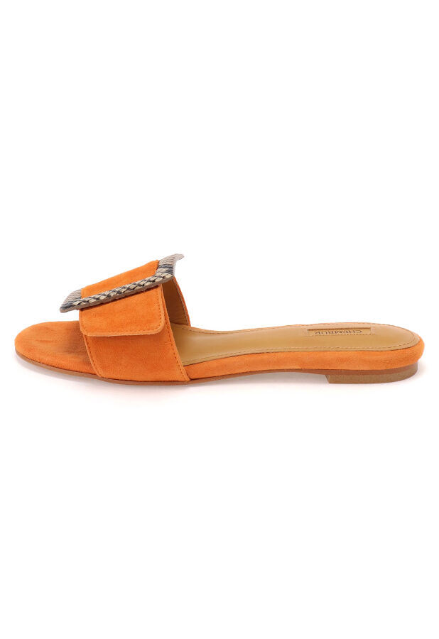 BELTED MULES SANDAL 2