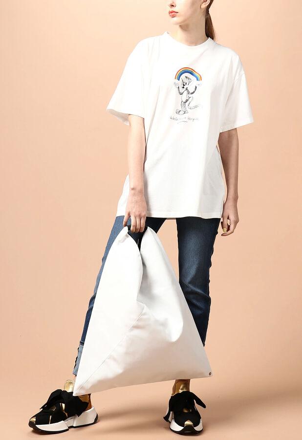 MM6 【ウォッシャブル】レインボープリントTシャツ 2