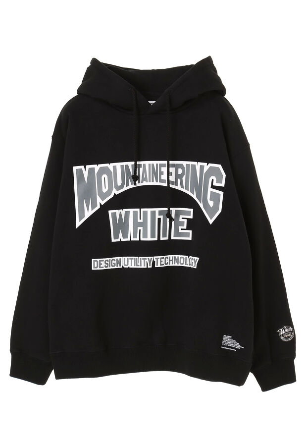 PRINTED BIG HOODIE 'WHITE MOUNTAINEERING' 21