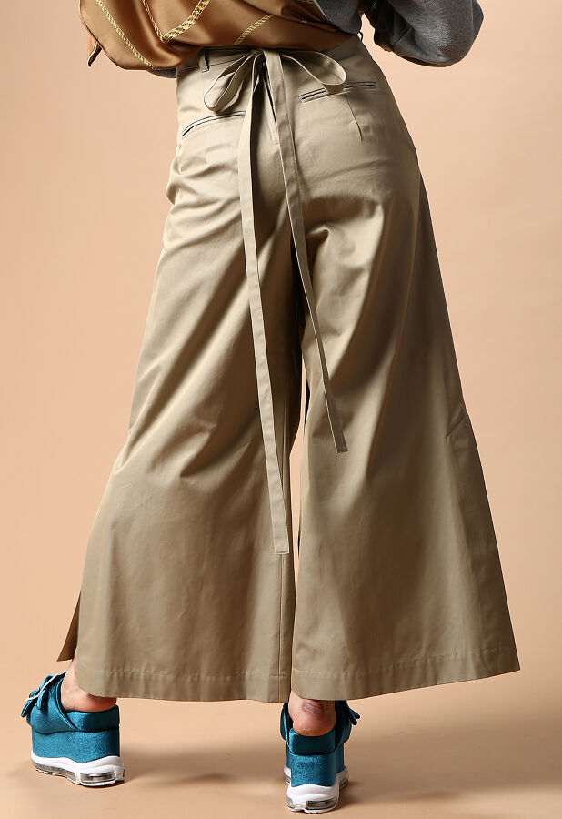 laceup trench pants 4