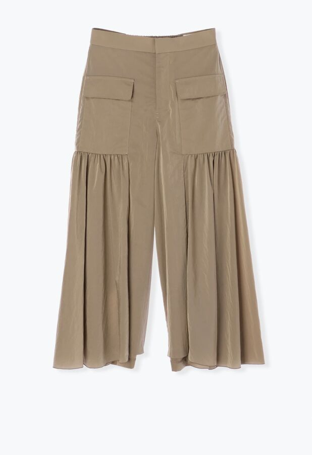 Side Gather Pants 1