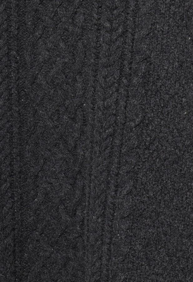 ラムズウールケーブルニットジャンパースカート 9