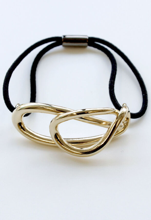 Elaborate(エラボレイト) flowing hair tie / gold 107