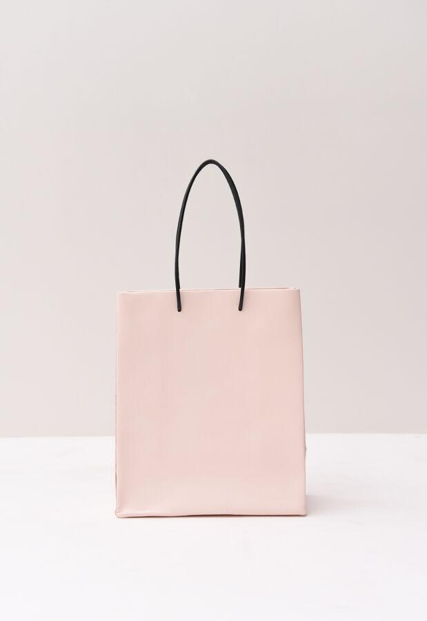 予約 UNKNOWN PRODUCTS アンノウン プロダクツ Leather Paper Bag レザーペーパーバッグ(M) 87