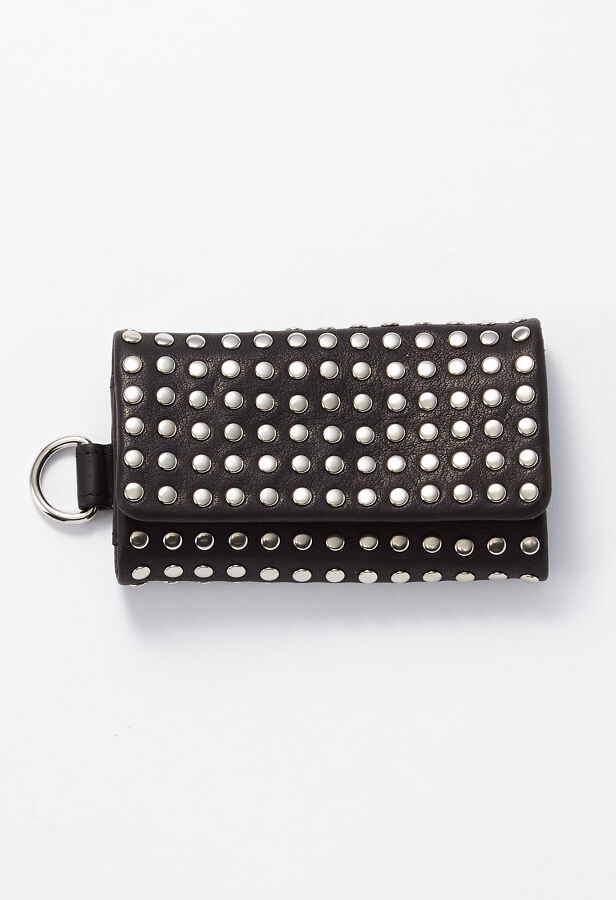 PATRICK STEPHAN / パトリックステファン Leather key case 'all-studs' キーケース 22