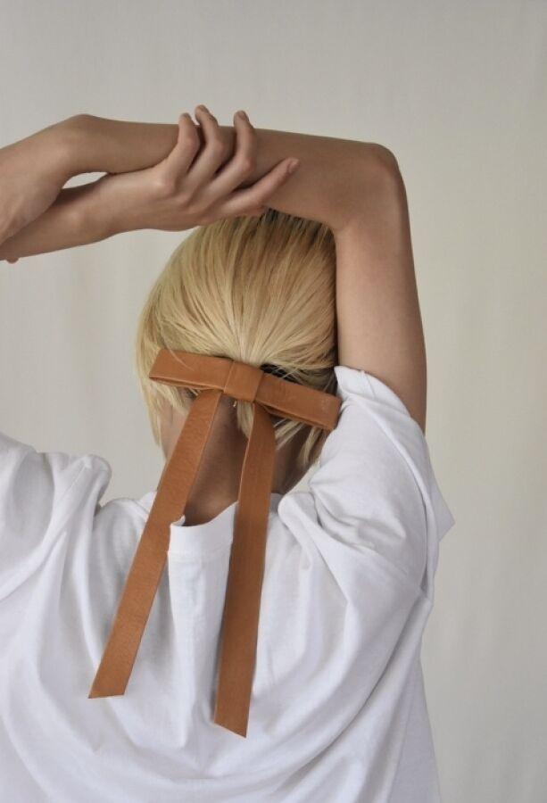 予約 long ribbon hook 33