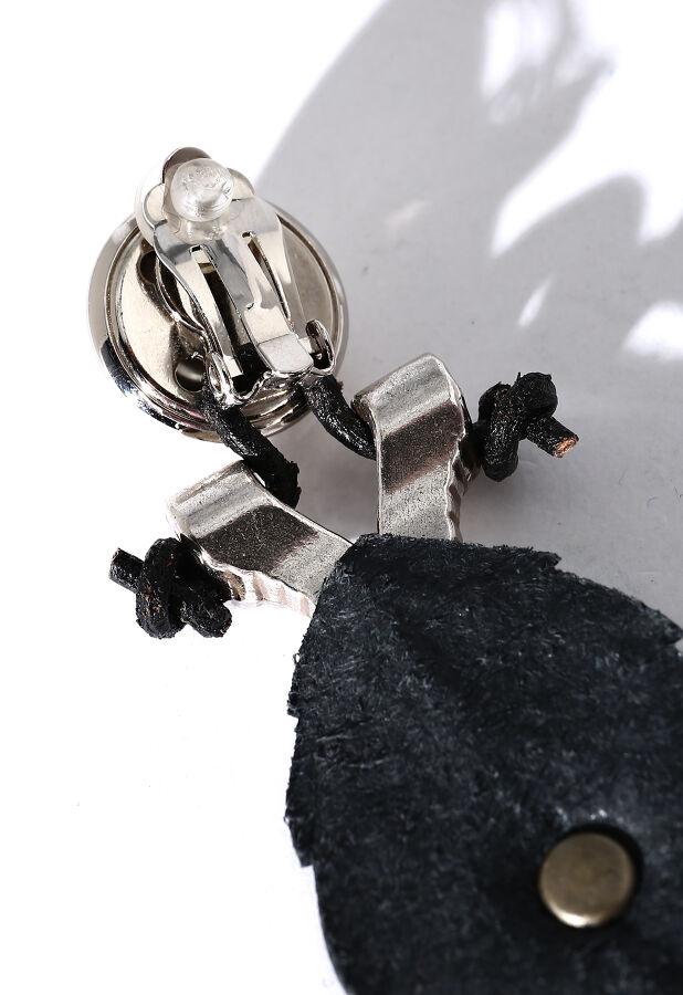 フミエタナカ/metal leaf earring メタルリーフイヤリング 6