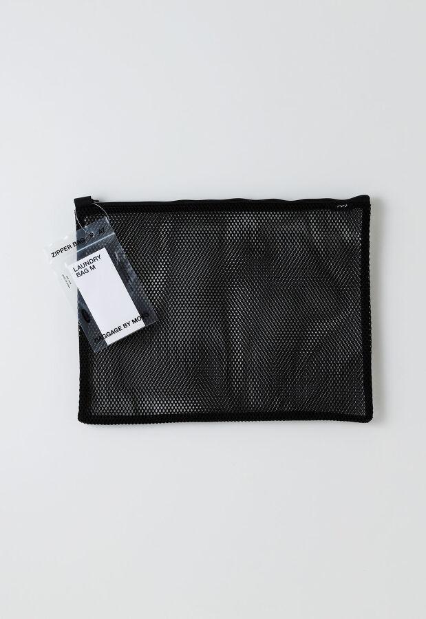 モヨウ moyo/ LAUNDRY BAG M BLACK / ランドリーバッグ M ブラック / クリーニングバッグ 日本製 21