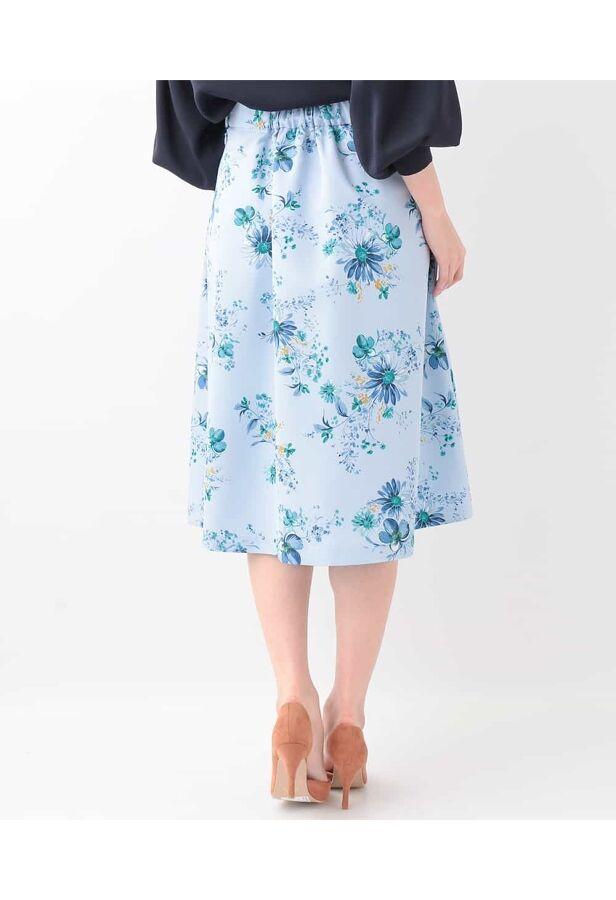 グログランフラワースカート 3