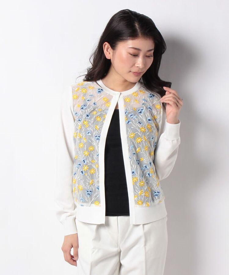 フラワー刺繍カ-ディガン 6