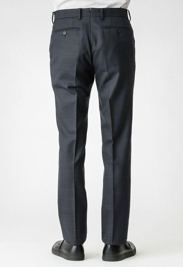 ストライプ/ウィンドウペーン スーツ 14