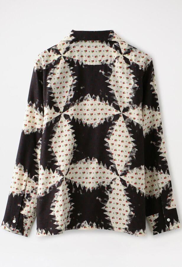 【NOMA t.d.】MEN Flower&Quilt Shirt SH01 2