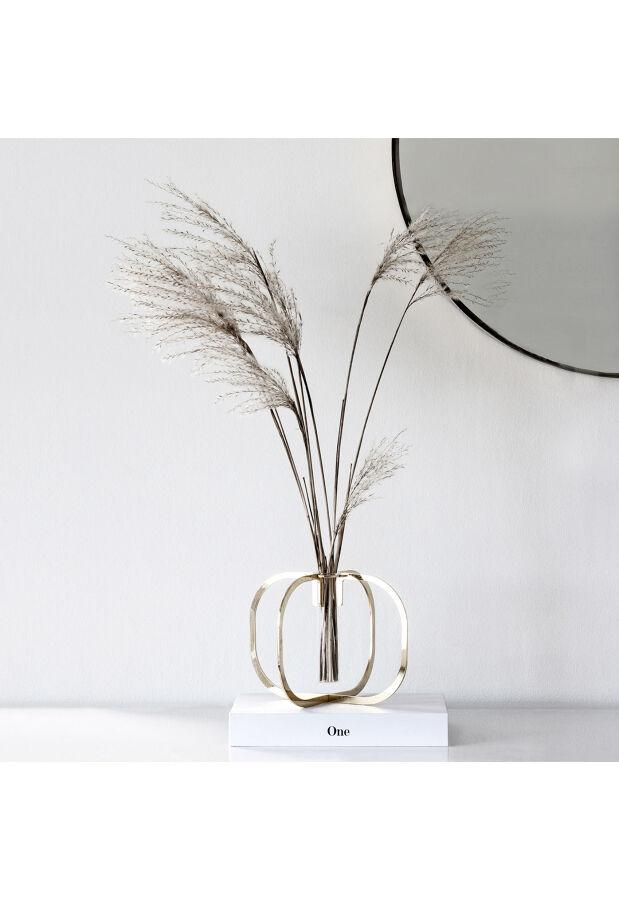 One flower vase Gold 24k / ワン フラワーベース / 一輪挿し 花瓶 サスティナブルパッケージ 5