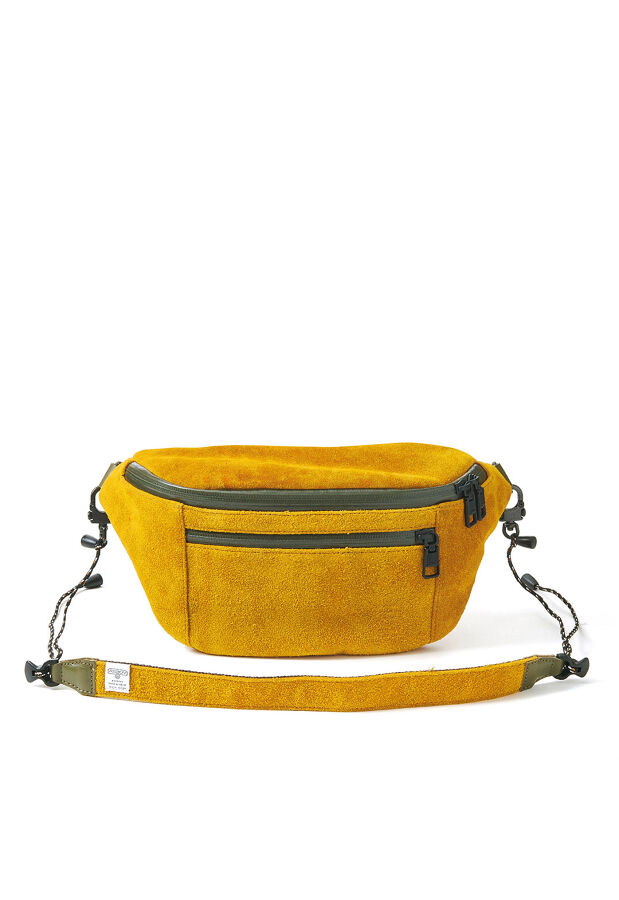 AS2OV / アッソブ 防水 撥水 WATER PROOF SUEDE FANNY PACK バッグ 85